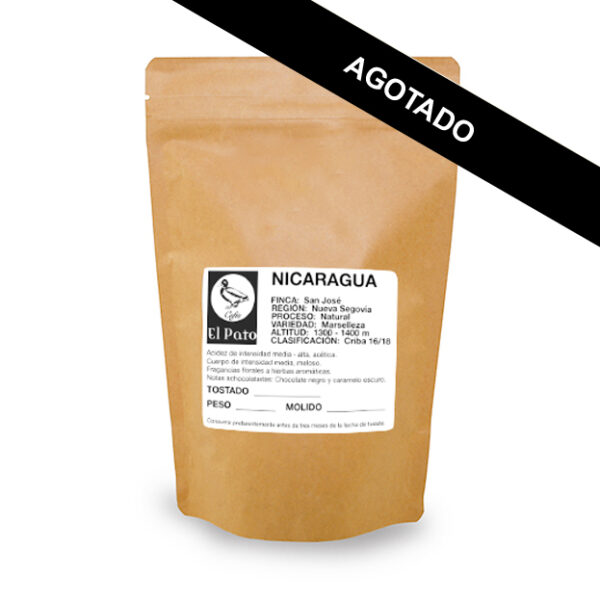 Paquete de Café Nicaragua - Cafés el Pato