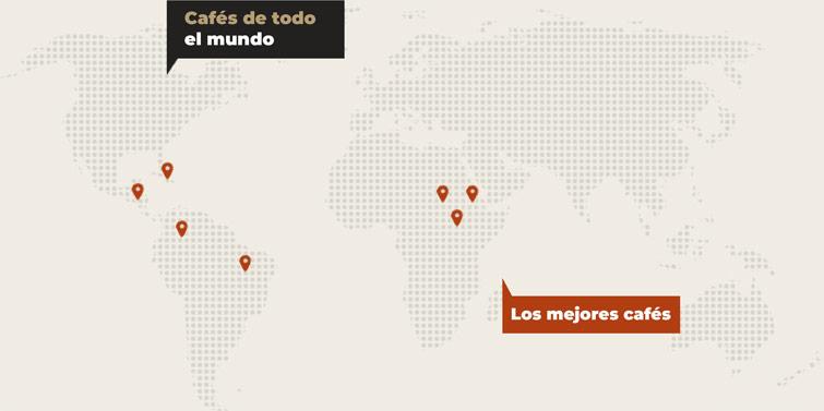 Localización de cafés