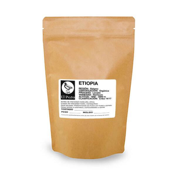Paquete de Café Etiopia - Cafés el Pato